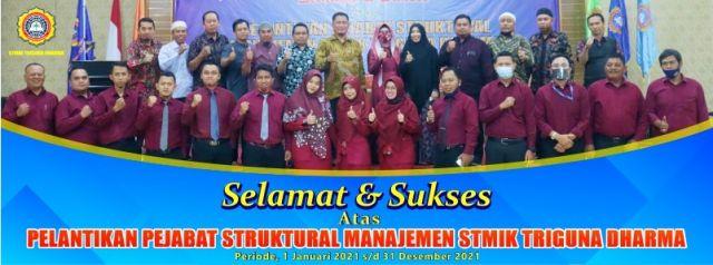 Pelantikan Pejabat Struktural Manajemen