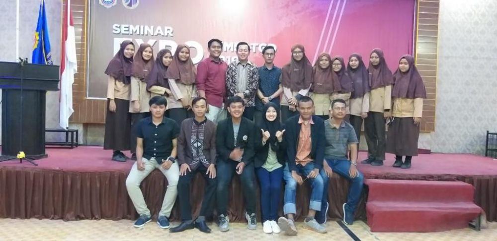 BAZAR & SEMINAR EXPO   HIMSI - TGD 2019  STMIK TRIGUNA DHARMA