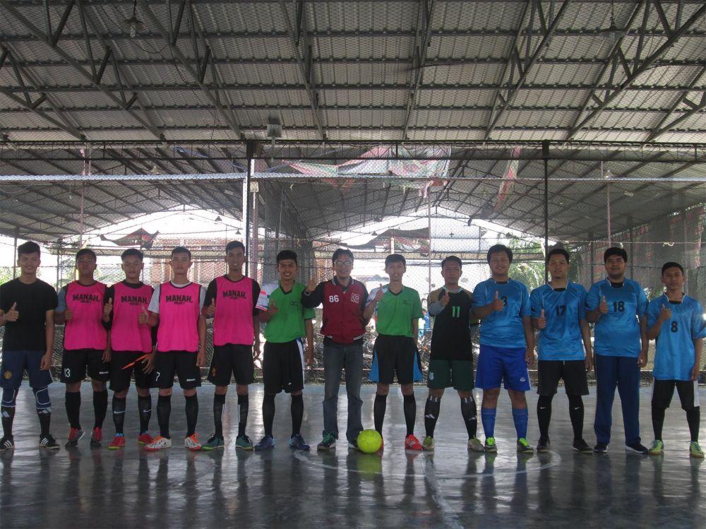 Kegiatan 17 an yg laksanakan ukm Futsal STMIK TRIGUNA DHARMA  dalam pertandingan futsal di point futsal pada tanggal 18 Aug 2018