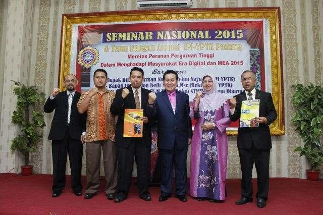 Seminar Nasional dan Temu Kangen Alumni UPI Padang di STMIK Triguna Dharma Medan
