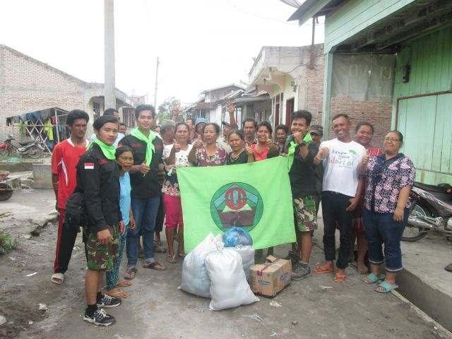 Kegiatan Peduli Sinabung yang di selenggarakan MATRIPALA Mahasiswa Triguna Dharma Pecinta Alam