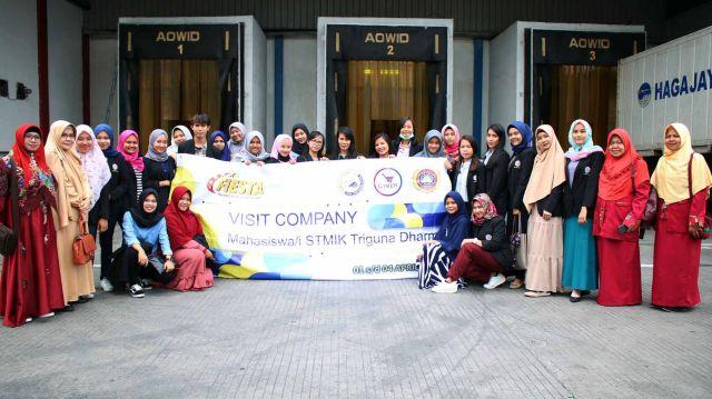CYBERPRENIURSHIP DAN MAHASISWA MELAKUKAN KUNJUNGAN ATAU VISIT COMPANY PT CHAROEN POKPHAND INDONESIA Tbk