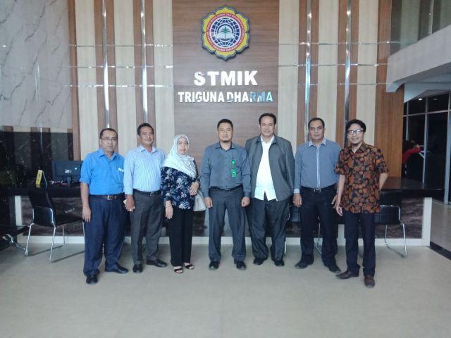Kerjasama STMIK Triguna Dharma dengan Universitas Quality Berastagi dan Medan