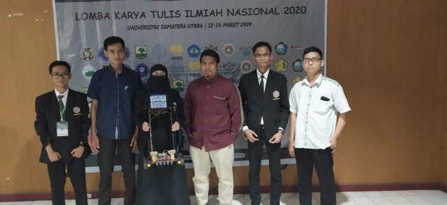 Mahasiswa STMIK Triguna Dharma Medapatkan Juara Harapan II pada lomba Karya Tulis Ilmiah Nasional di acara INSTINCT ke-4 USU