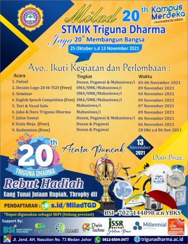 MILAD STMK Triguna Dharma 20th