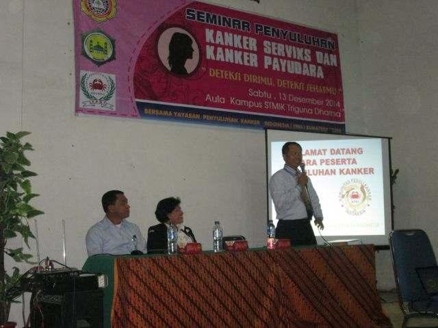 Seminar Penyuluhan Kanker Serviks oleh LDK Irmastri