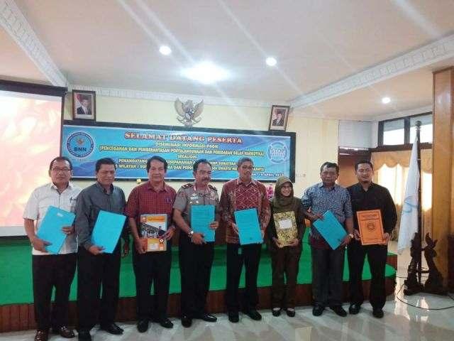 Penandatanganan MoU antara STMIK Triguna Dharma dengan Badan Narkotika Nasional dan KOPERTIS Wilayah I